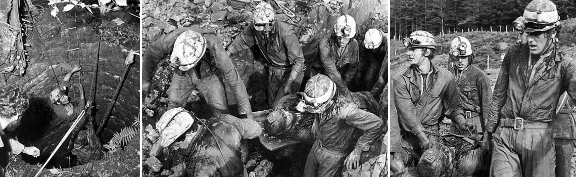 Cave Rescue in the late 1960s