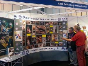 BCRC Display at ESS 2014