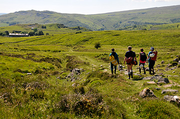 The Sunny walk from Top Entrance to Penwyllt