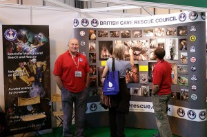 BCRC Stand at the 2015 Emergency Services Show