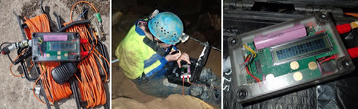 Nicola 3 Radios (Pictures: Mendip Cave Rescue)