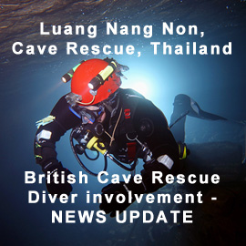 Further deployment of British cave rescue divers to Thailand