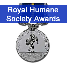 Royal Humane Society Awards Presentation