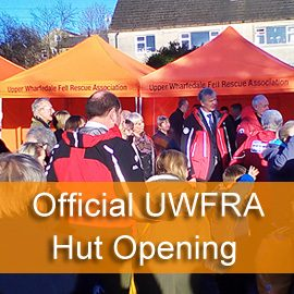 Official Opening of the UWFRA Hut