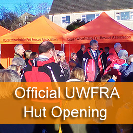 UWFRA Official Hut Opening