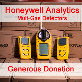 Honeywell Analytics a Generous Donation