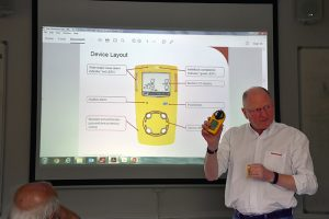 Introducing the Multi-Gas Detectors to BCRC Team Reps.