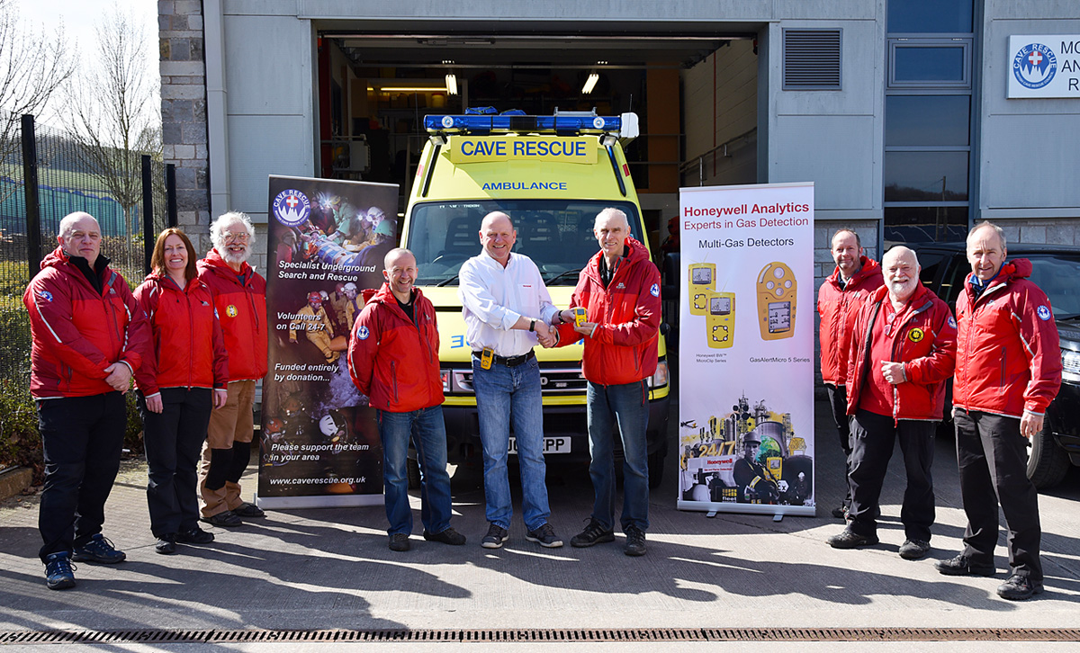 Presentation of the Honeywell Analytics Multi-Gas Detectors to BCRC, Buxton Fire Station
