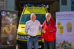 Presentation of the gas detectors to BCRC. (3 Peaks Photography)