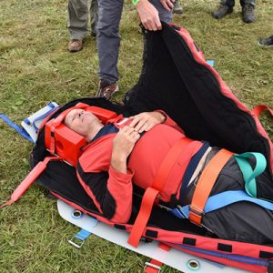 Packaging a stretcher casualty