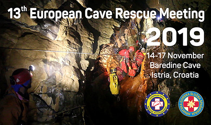 13th European Cave Rescue Meeting, Baredine Cave, Croatia