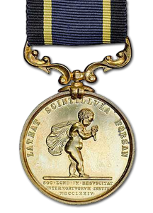 Royal Humane Society Stanhope Medal