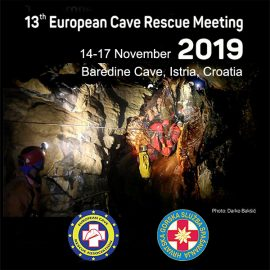 13th European Cave Rescue Meeting, 2019