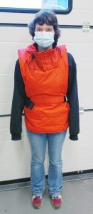 The new electrically heated thermal casualty jacket