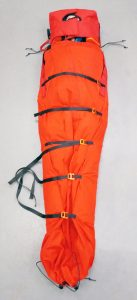 Casualty wrapped in a new style electric CasBag