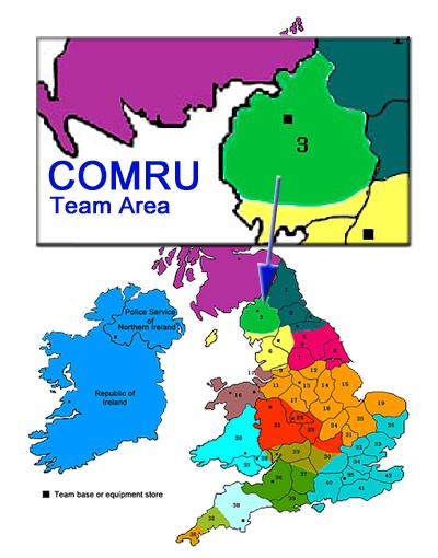 Cumbria Ore Mines Rescue Unit team area