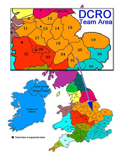 Derbyshire Cave Rescue Organisation team area
