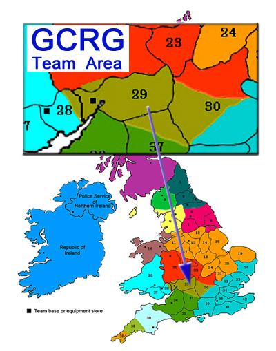 Gloucestershire Cave Rescue Group team area