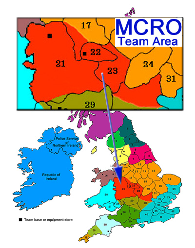 Midlands Cave Rescue Organisation team area